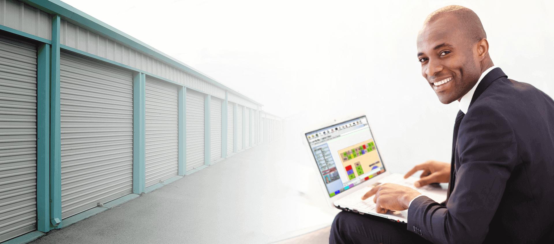 background for self storage software slider