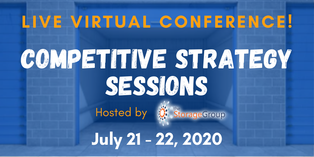 Competitive Strategy Sessions for Self Storage