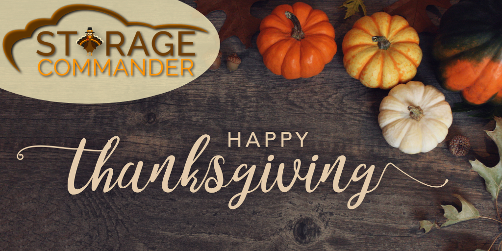 Happy Thanksgiving 2020 in self-storage