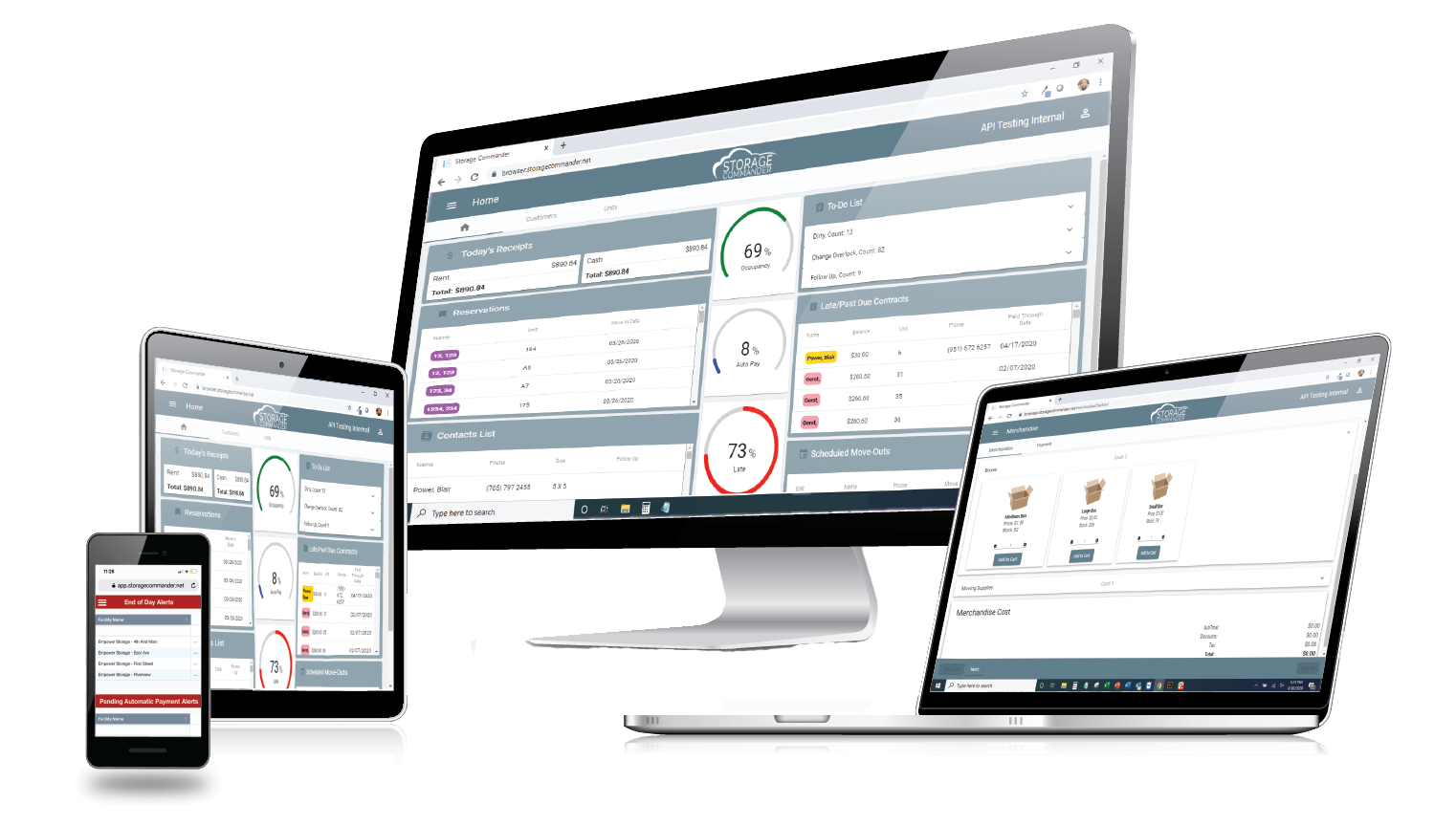 Cross Platform Self Storage Software