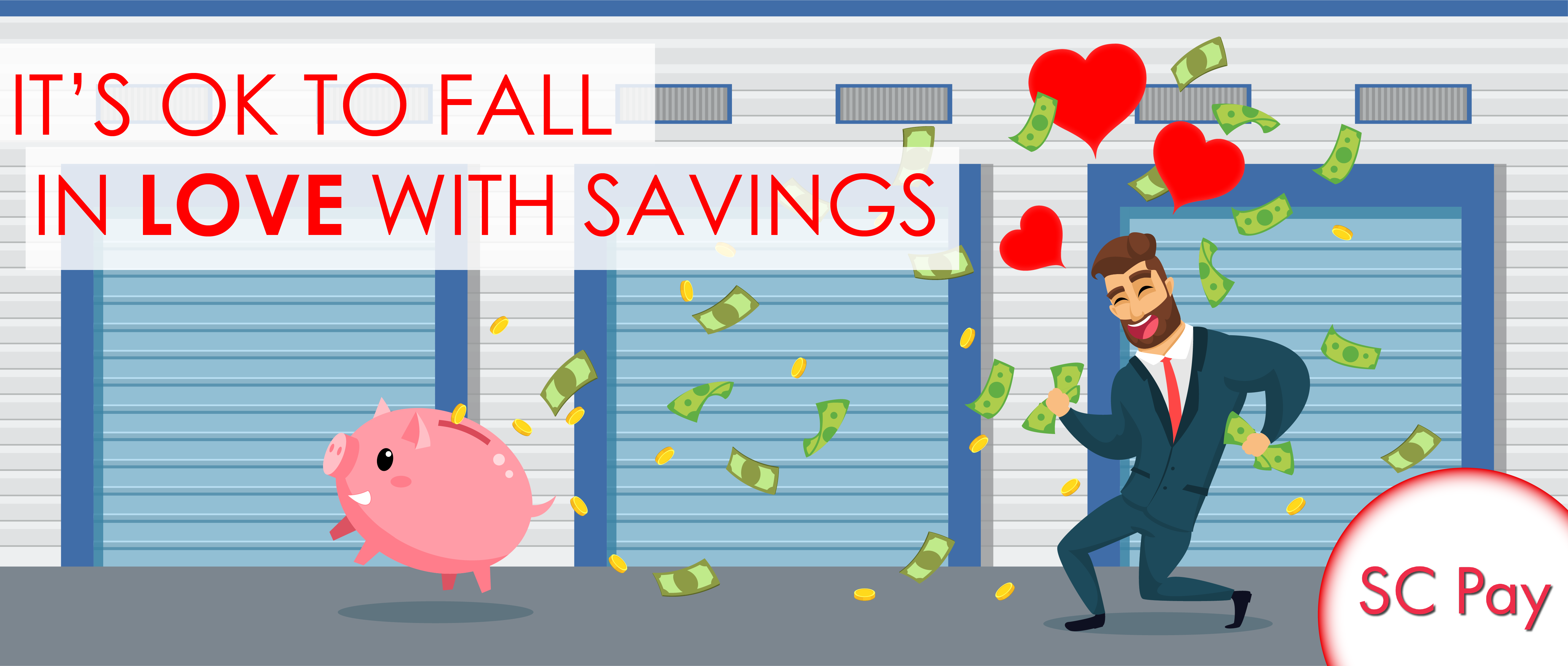 Fall in love with savings